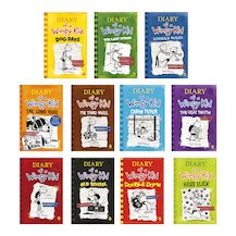 Diary of a Wimpy Kid Pack x 11