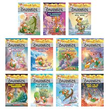 Geronimo Stilton: Cavemice Pack x 11
