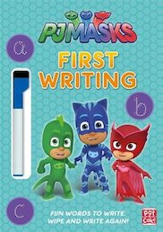 PJ Masks: First Writing (Wipe-Clean)
