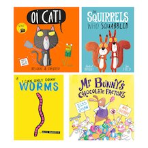 Lollies 2018 Picture Books Shortlist Pack x 4