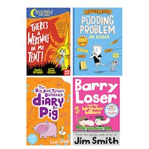 Lollies 2018 Ages 6-8 Shortlist Pack x 4