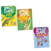 Roald Dahl Colour Pack x 3