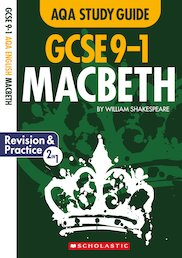 GCSE Grades 9-1 Study Guides: Macbeth AQA English Literature x 10