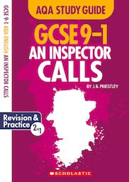 GCSE Grades 9-1 Study Guides: An Inspector Calls AQA English Literature x 10