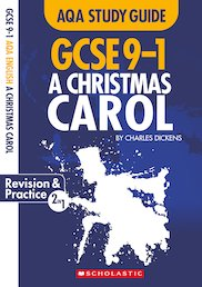 GCSE Grades 9-1 Study Guides: A Christmas Carol AQA English Literature x 10