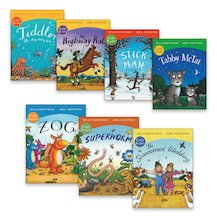 Julia Donaldson and Axel Scheffler Early Readers Pack x 7