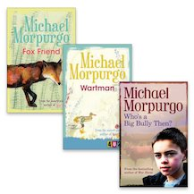 Barrington Stoke 4u2read: Michael Morpurgo Pack x 3