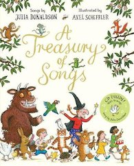 A Treasury of Songs: Book and CD x 6