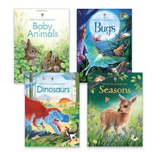Usborne Young Beginners Book Band Turquoise Pack x 4