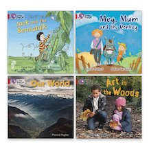Big Cat Readers Pack: Book Band Red B x 4
