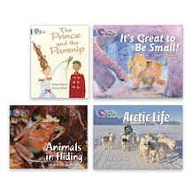 Big Cat Readers Pack: Book Band Blue x 4