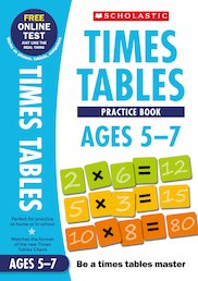 Practice Book for Ages 5-7 x 6