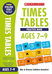 Practice Book for Ages 7-9 x 6