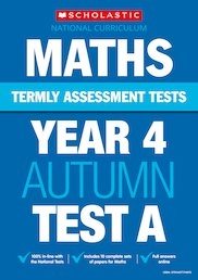 Termly Assessment Tests: Year 4 Maths Tests A, B and C x 30