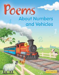 PM Oral Literacy Emergent: Poems About Numbers and Vehicles x6