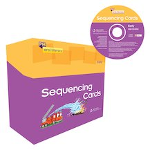 PM Oral Literacy Early: Sequencing Cards Box Set including CD-ROM