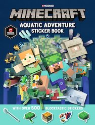 Minecraft: Aquatic Adventure Sticker Book