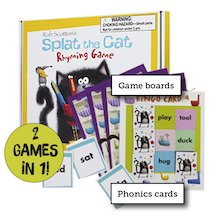 Splat the Cat Rhyming Game