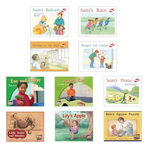 PM Oral Literacy Emergent: Levelled Texts Mixed Pack (10 books)