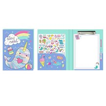 Stay Cool Narwhal Folio
