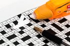 The first crossword puzzle book was published