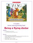 Zog Home Learning Activity Pack 0-5 years (6 pages)