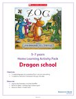 Zog Home Learning Activity Pack 5-7 years (5 pages)