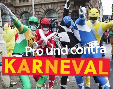 Pro und contra Karneval