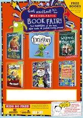 Editable poster scholastic primary book fair 1839867