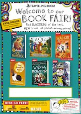 Editable Poster – Travelling Books Book Fair