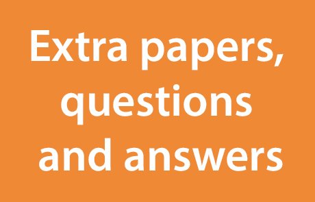 GCSE extra papers, questions and answers