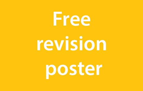 Download a free GCSE revision poster