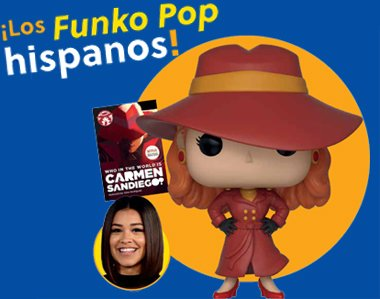 Los Funko Pop hispanos