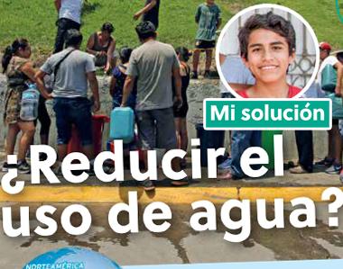 Reducir el uso de agua