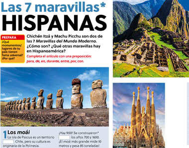 Las 7 maravillas hispanas