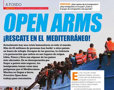 Open Arms, ¡rescate en el Mediterráneo!