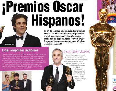 ¡Premios Óscar Hispanos!