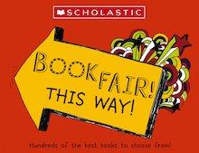 Left arrow scholastic primary book fair 1839914