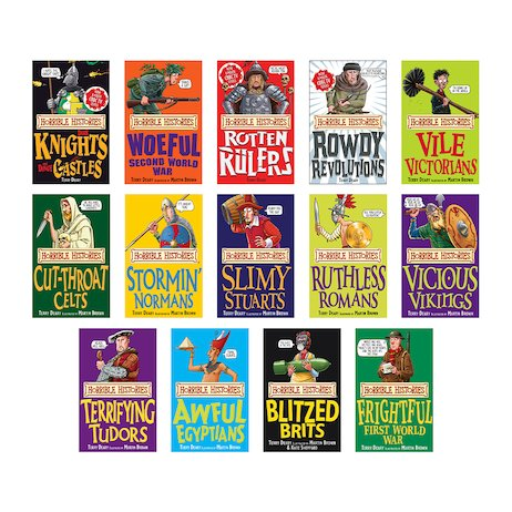 Horrible Histories Pack x 14 (Classic Editions)