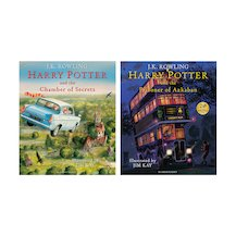 Harry Potter Illustrated Editions Pair