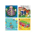Books with Holes: Nursery Rhymes Pack x 4