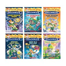 Geronimo Stilton: Spacemice Pack x 6