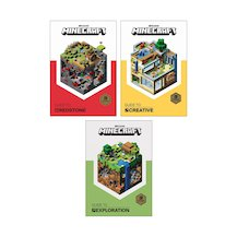 Minecraft Guides Pack x 3