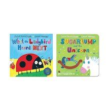 Julia Donaldson and Lydia Monks Board Book Pair