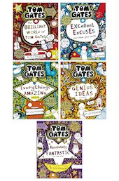 Tom Gates Pack x 5
