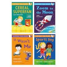 Bloomsbury Young Readers Pack x 4