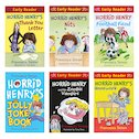 Horrid Henry Early Readers Pack with FREE Horrid Henry Joke Book