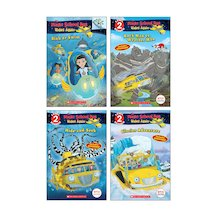 The Magic School Bus Rides Again Early Readers Pack x 4