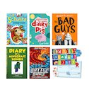 Get Me Reading Pack with FREE My Reading Diary x 6
