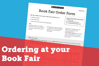 Ordering at your Book Fair - blog image
